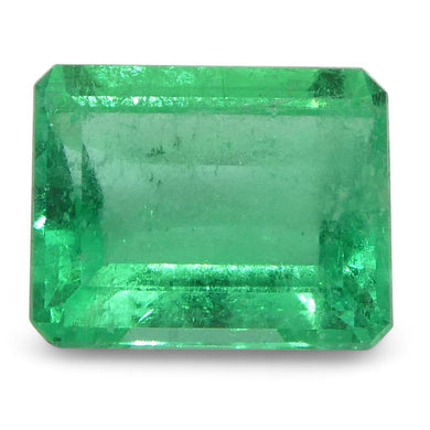 0.6 ct Emerald Cut Emerald Colombian - Skyjems Wholesale Gemstones