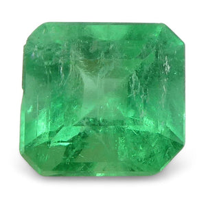 0.62 ct Square Emerald Colombian - Skyjems Wholesale Gemstones