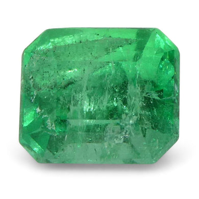 0.61 ct Emerald Cut Emerald Colombian - Skyjems Wholesale Gemstones