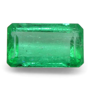 0.53 ct Emerald Cut Emerald Colombian - Skyjems Wholesale Gemstones