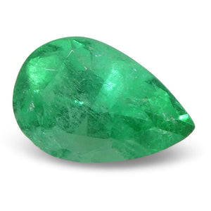 0.54 ct Pear Emerald Colombian - Skyjems Wholesale Gemstones