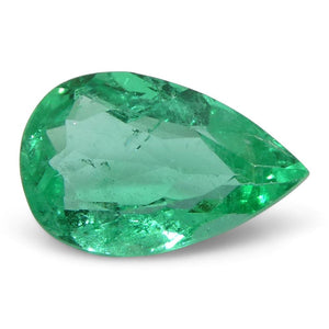 0.64 ct Pear Emerald Colombian - Skyjems Wholesale Gemstones