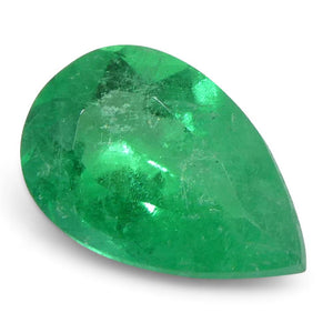 0.6 ct Pear Emerald Colombian - Skyjems Wholesale Gemstones