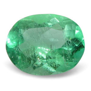 0.61 ct Oval Emerald Colombian - Skyjems Wholesale Gemstones