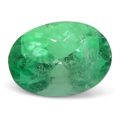 0.8 ct Oval Emerald Colombian - Skyjems Wholesale Gemstones