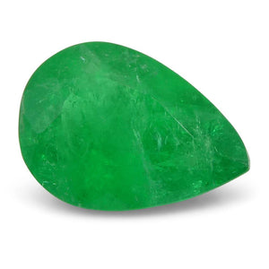0.9 ct Pear Emerald Colombian - Skyjems Wholesale Gemstones