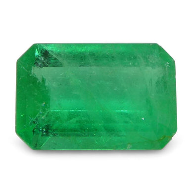 0.88 ct Emerald Cut Emerald Colombian - Skyjems Wholesale Gemstones