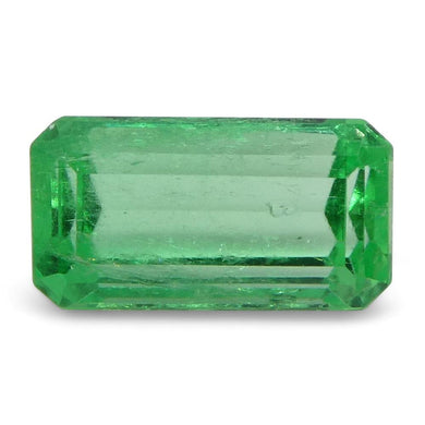 0.76 ct Emerald Cut Emerald Colombian - Skyjems Wholesale Gemstones