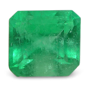 0.52 ct Emerald Cut Emerald Colombian - Skyjems Wholesale Gemstones