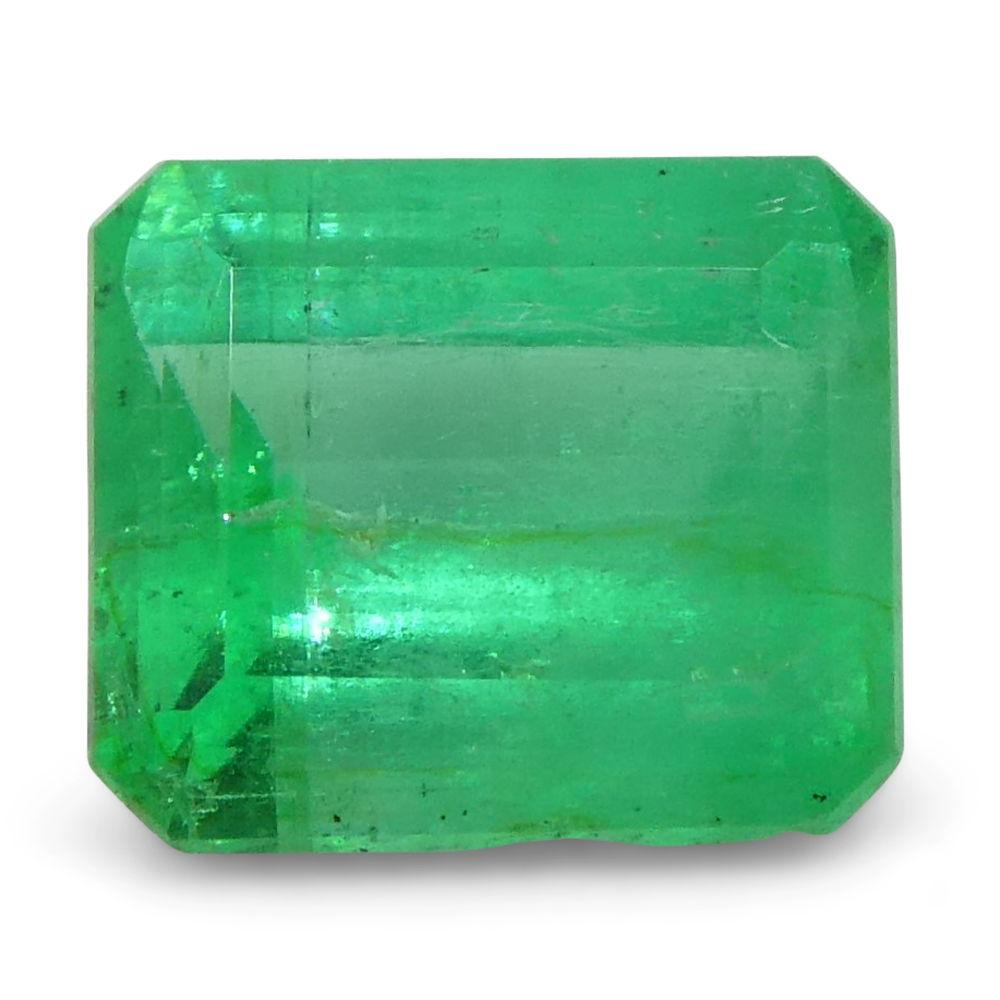 0.52 ct Emerald Cut Emerald Colombian
