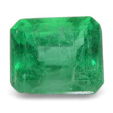 0.48 ct Emerald Cut Emerald Colombian - Skyjems Wholesale Gemstones