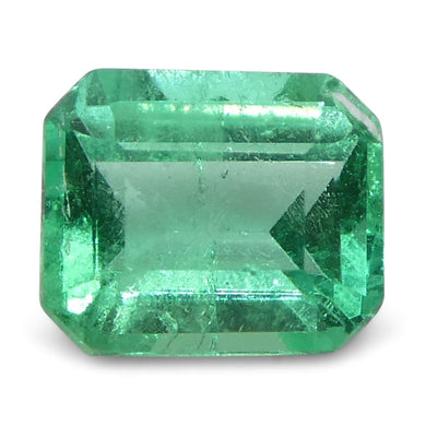 0.49 ct Emerald Cut Emerald Colombian - Skyjems Wholesale Gemstones