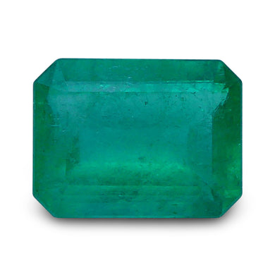 Emerald 1.37 cts 8.30x6.29x3.66mmmm Rectangular Green  $615