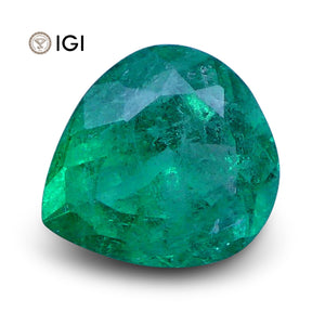 1.01 ct Pear Emerald IGI Certified - Skyjems Wholesale Gemstones