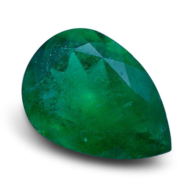 Emerald 1.77 cts 10.08x7.17x4.73mmmm Pear Green  $795