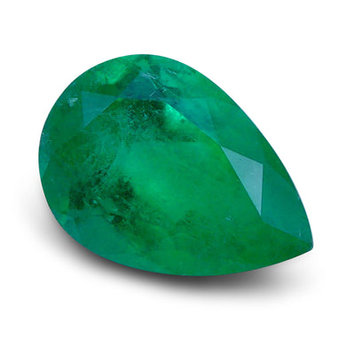 Emerald 1.9 cts 10.38x7.29x5.00mmmm Pear Green  $855