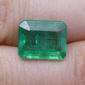 2.82 ct Emerald Cut Emerald