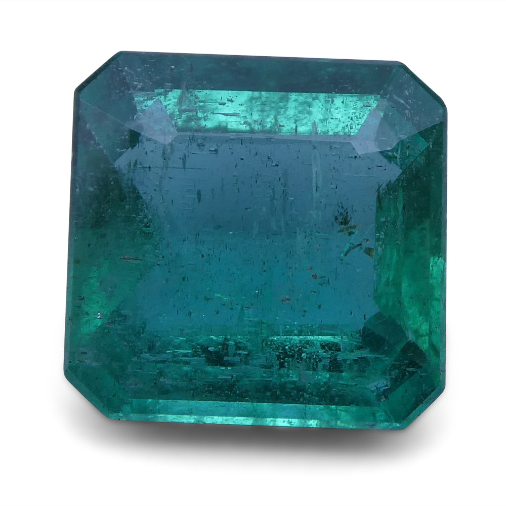Emerald 2.86 cts 8.90x8.76x4.60 mm Square Green $1290