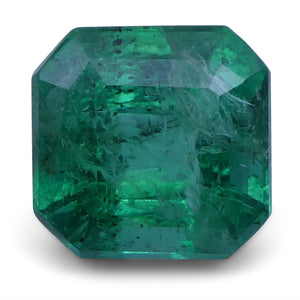 Emerald 2.92 cts 8.48x8.27x6.00 mm Emerald Cut Green $730