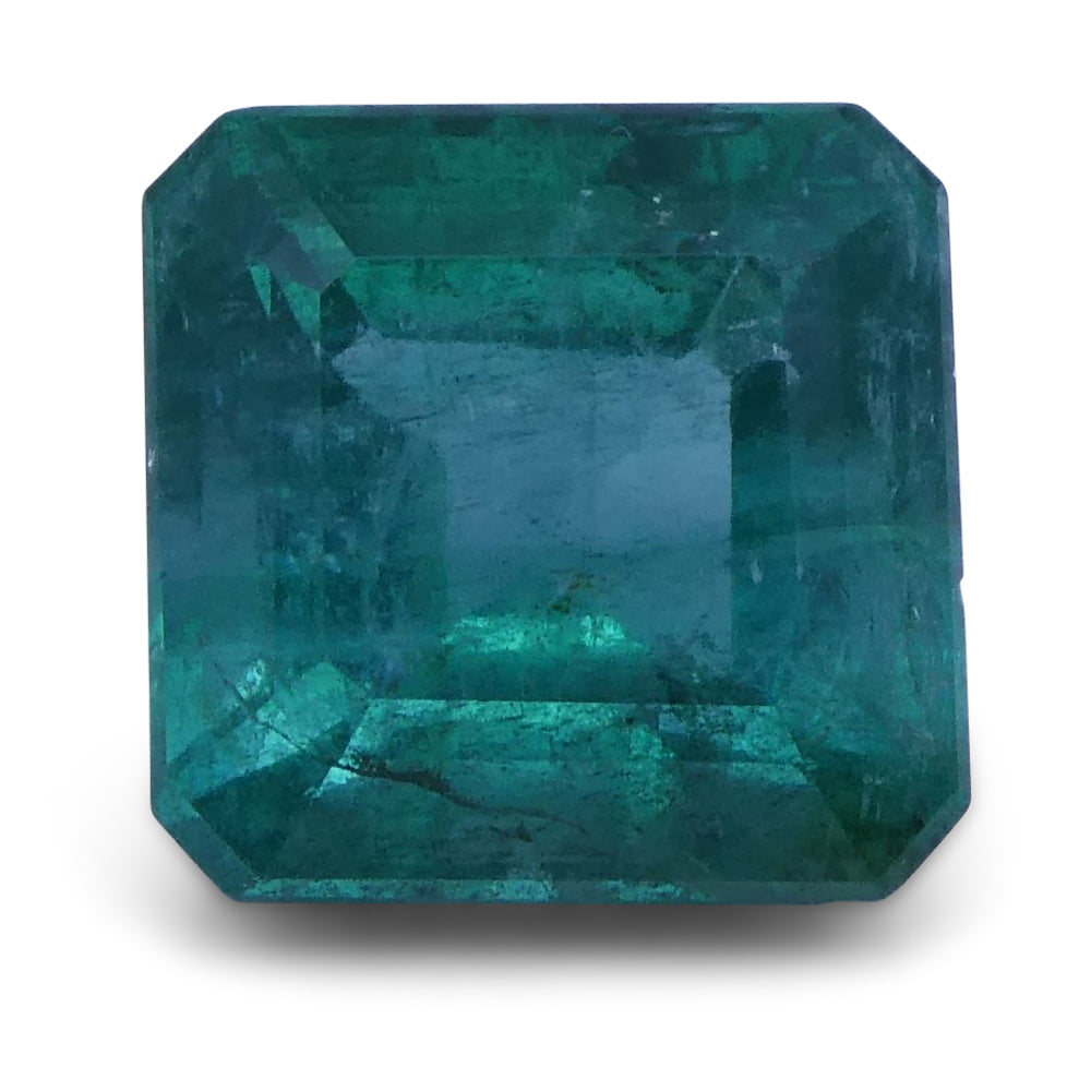 Emerald 2.99 cts 7.93x7.82x6.37 mm Square Green $1350