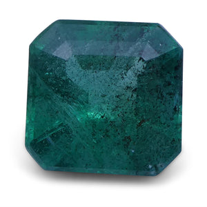 Emerald 1.92 cts 7.67x7.58x4.98 mm Square Green $380