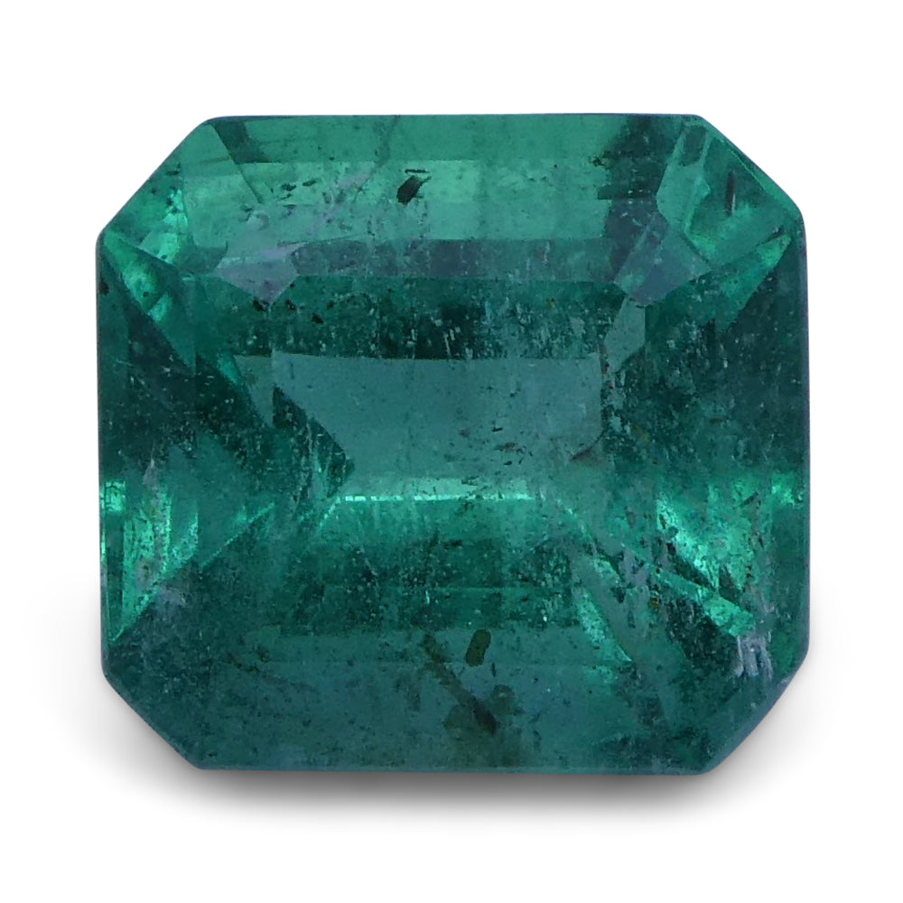 Emerald 2.02 cts 7.81x7.28x5.18 mm Emerald Cut Green $450