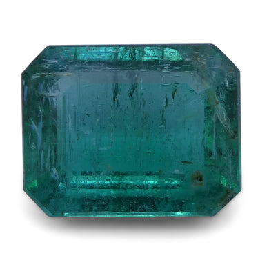 Emerald 2.2 cts 9.03x7.10x4.30 mm Emerald Cut Green $660