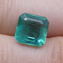 2.83 ct Square Emerald