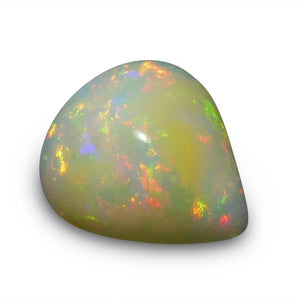 5.28 ct Pear Cabochon Opal - Skyjems Wholesale Gemstones