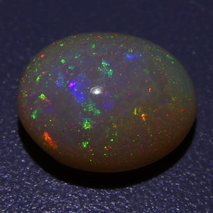 3.43 ct Oval Cabochon Opal Ethiopian - Skyjems Wholesale Gemstones