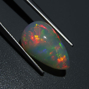 7.83 ct Pear Cabochon Opal IGI Certified