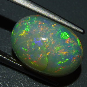 Opal 3.39 cts 13.17x9.84x5.82mm Oval Cabochon Base Color: Slightly Off White  $205