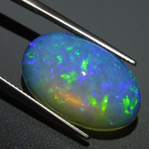 9.99 ct Oval Cabochon Opal