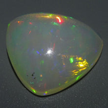 Opal 16.76 cts 22.62x22.22x8.01mm Trillion Cabochon Base Color: Slightly Orange  $1005