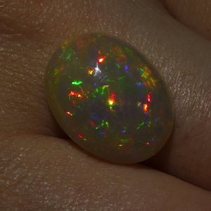 5.14 ct Oval Cabochon Opal - Skyjems Wholesale Gemstones