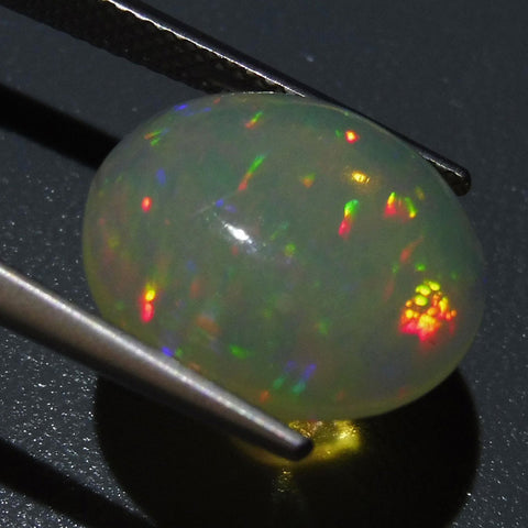 4.89 ct Oval Cabochon  Opal