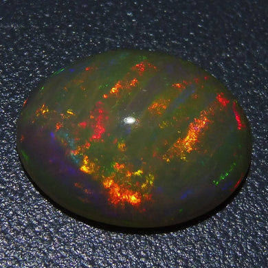 Opal 3.47 cts 13.83x11.08x5.01mm Oval Cabochon Base Color: Off White  $120