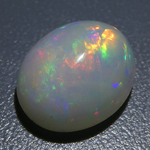 4.07ct Oval Cabochon Crystal Opal