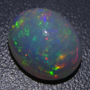2.22ct Oval Cabochon Crystal Opal - Skyjems Wholesale Gemstones