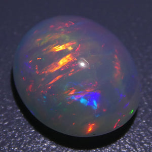 3.60ct Oval Cabochon Crystal Opal - Skyjems Wholesale Gemstones