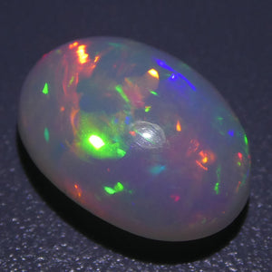 3.80ct Oval Cabochon White Opal - Skyjems Wholesale Gemstones