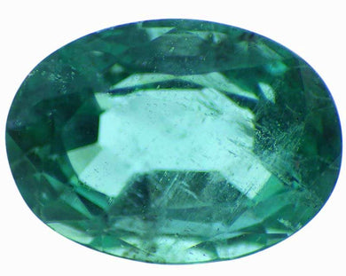 0.71 ct  Oval Cut Natural Emerald - Skyjems Gemstones Gems