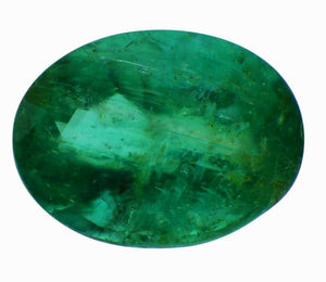 1.05 ct Oval Cut Natural Emerald - Skyjems Gemstones Gems