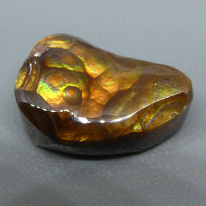 8.78ct Mexican Fire Agate Freeform - Skyjems Wholesale Gemstones
