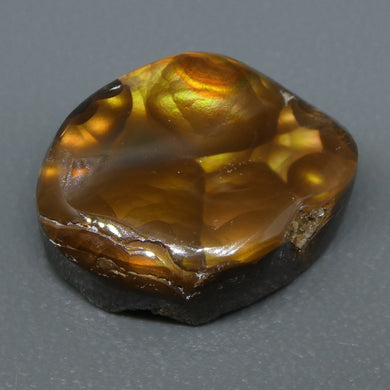 7.58ct Mexican Fire Agate Freeform - Skyjems Wholesale Gemstones