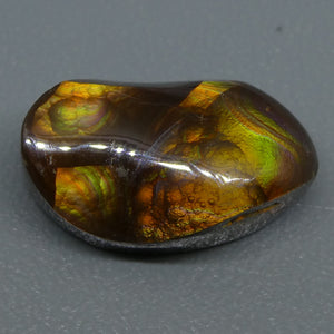 8.08ct Mexican Fire Agate Freeform - Skyjems Wholesale Gemstones