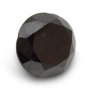 2.41 ct Round Black Diamond