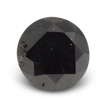 1.76 ct Round Black Diamond