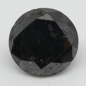 Black Diamond 1.99cts 7.86x7.80x5.01mm Round Black $220