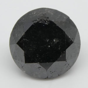 Black Diamond 2.5cts 8.03x8.00x5.70mm Round Black $280